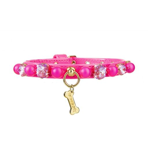 CANDY STORE COLLAR HOT PINK