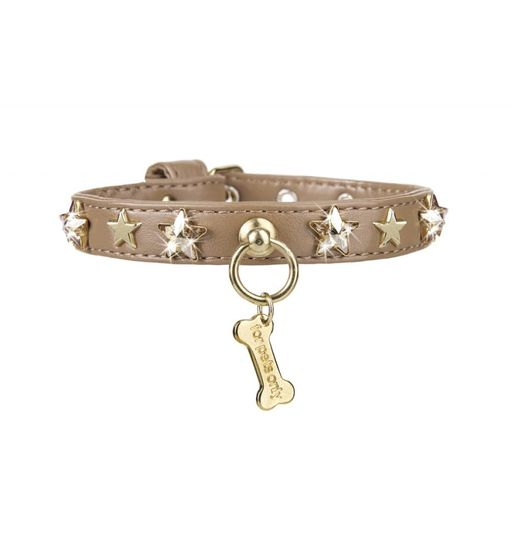 CHIC AND STARS COLLAR CAMEL